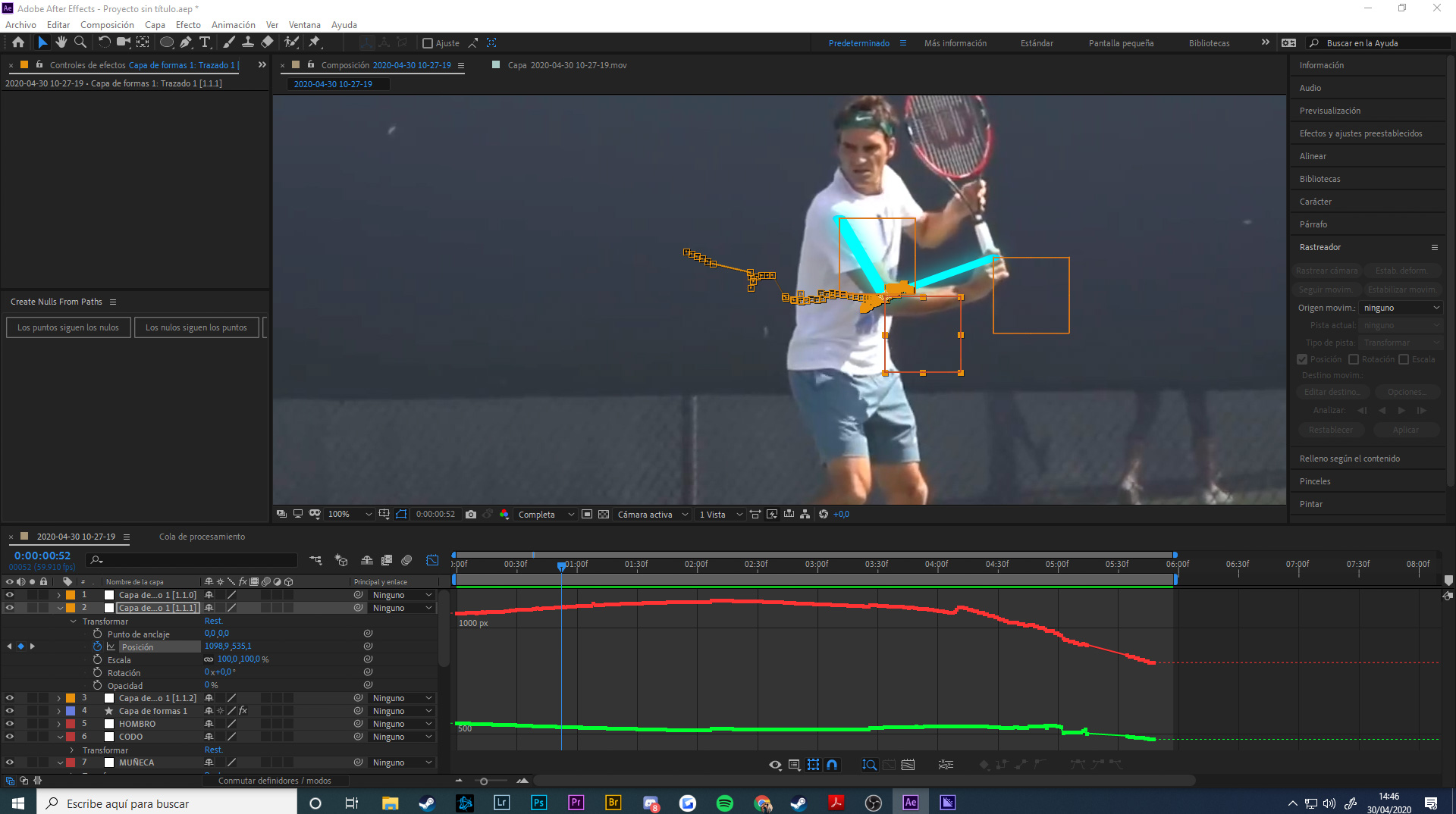 Federer videoanalisis