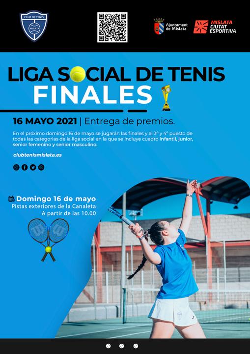Final liga social de tenis